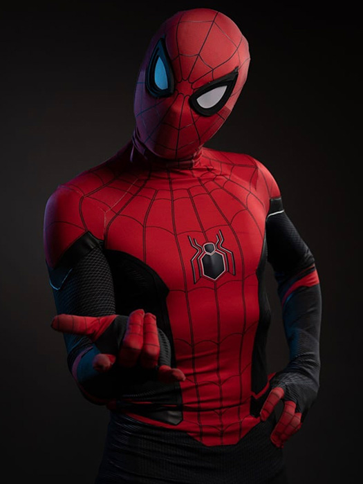 Spideman cosplay party